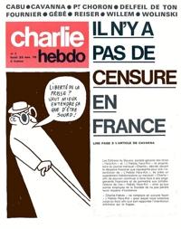Les unes de Charlie Hebdo No1 à 476 - 1970 - 1980