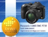 Panasonic France - FZ30 DIWA GOLD AWARD